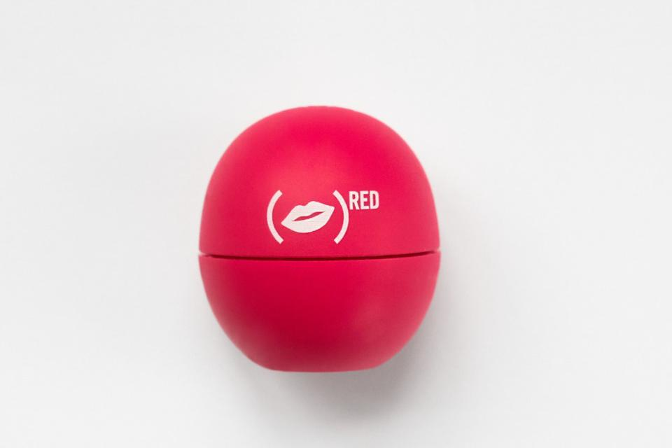 (eos) RED Organic Pomegranate Raspberry Lip Balm