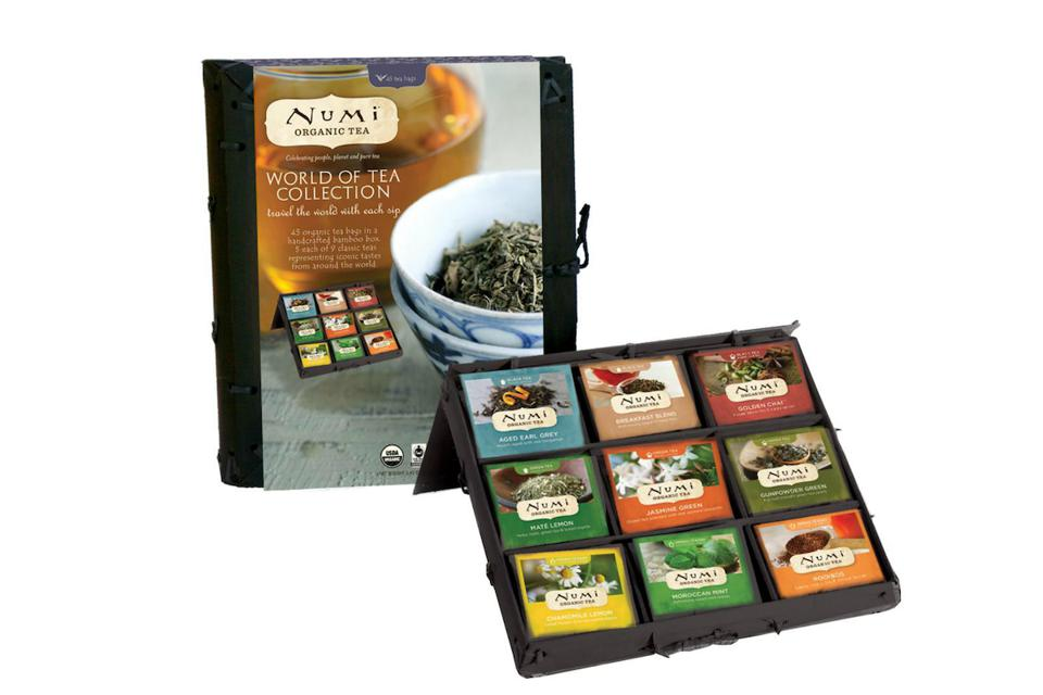 World of Tea Collection from Numi