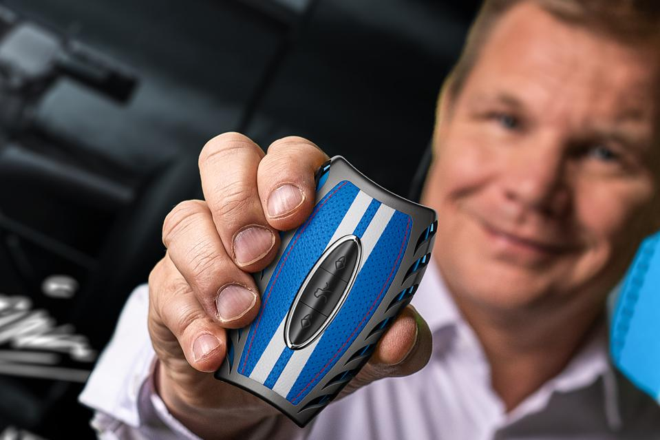 This outrageously expensive car key fob was created by a Finland-based company called Awain in conjunction with famed Formula One driver Mika Salo
