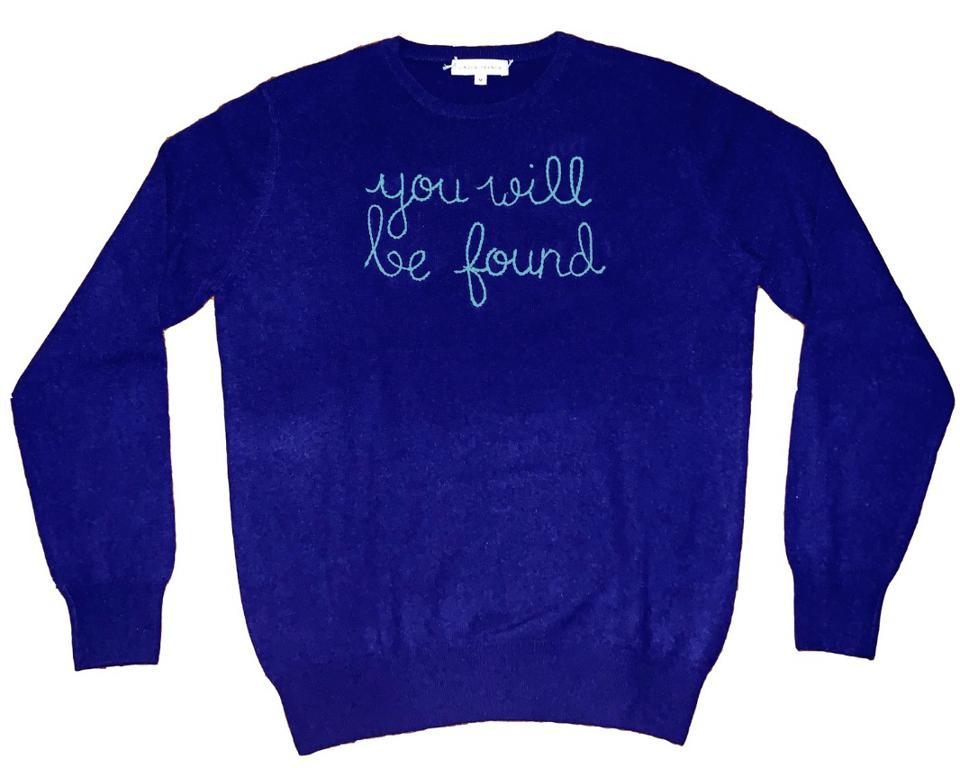 "Dear Evan Hansen x Lingua Franca ""You Will Be Found"" Sweater"