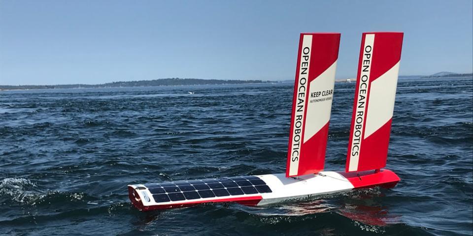 Les drones de l'Open Ocean Robotics peuvent recueillir des données environnementales en temps réel