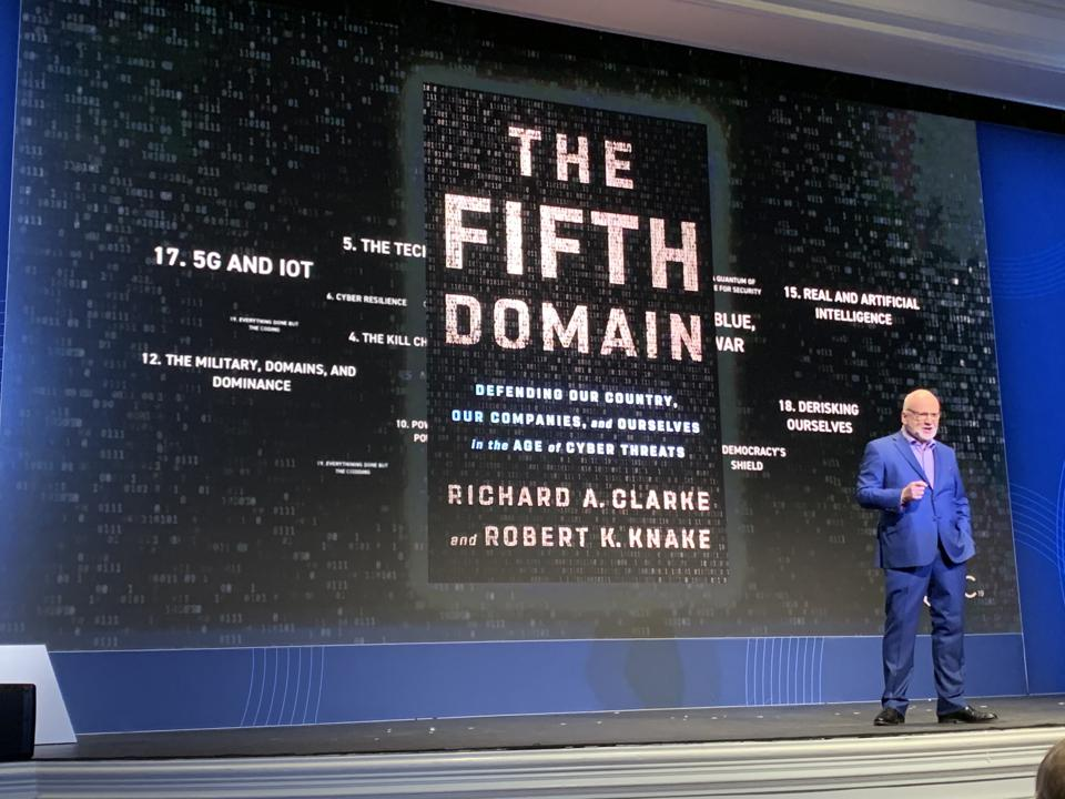Richard Clarke at Qualys Security Conference 19