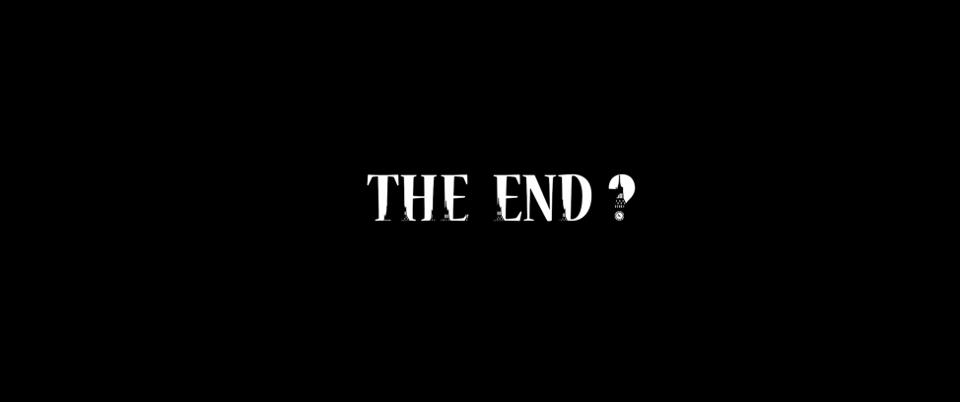 Ending credits after completion of The Beast Inside.