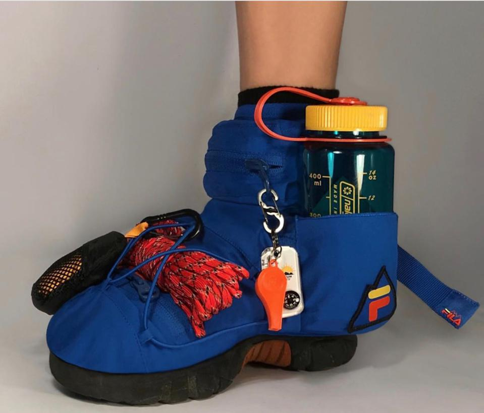 Nicole McLaughlin Basic Space DIY Footwear