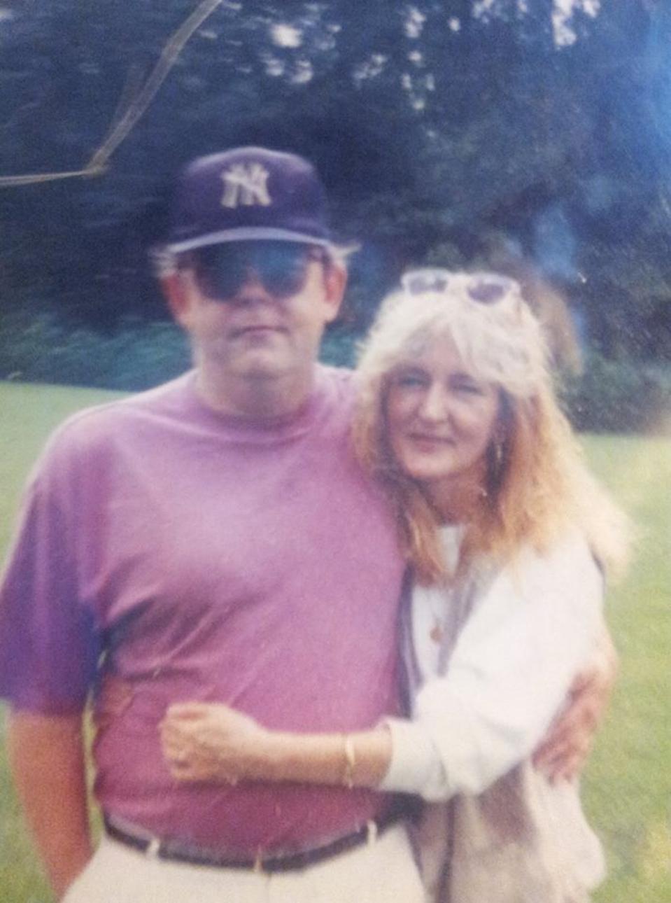 Nick Stump and Bonnie McCaffery in Lee County,  Kentucky 1992.