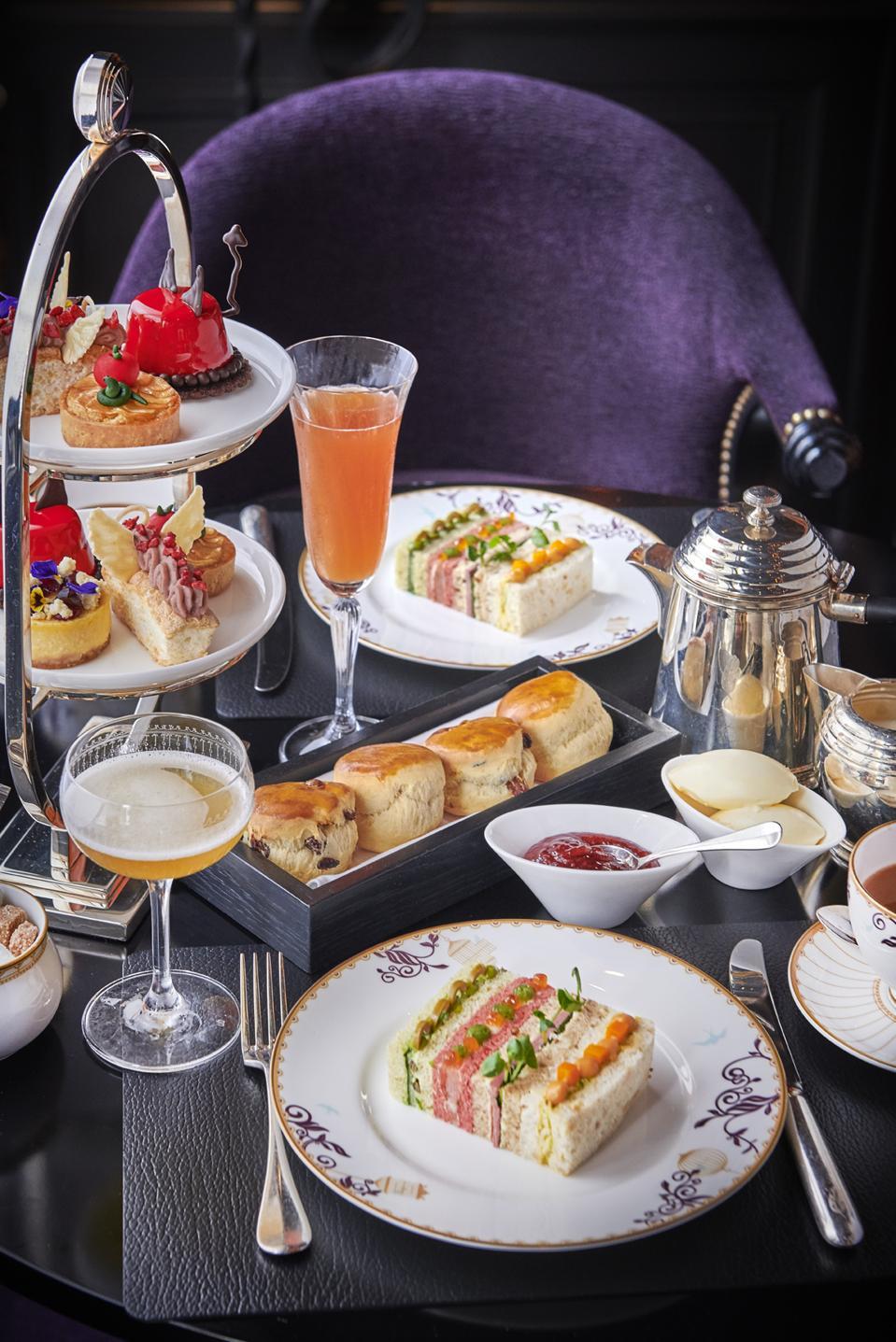 Afternoon Tea at L'Oscar