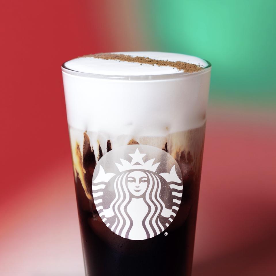 Starbucks' new Irish Cream Cold Brew.