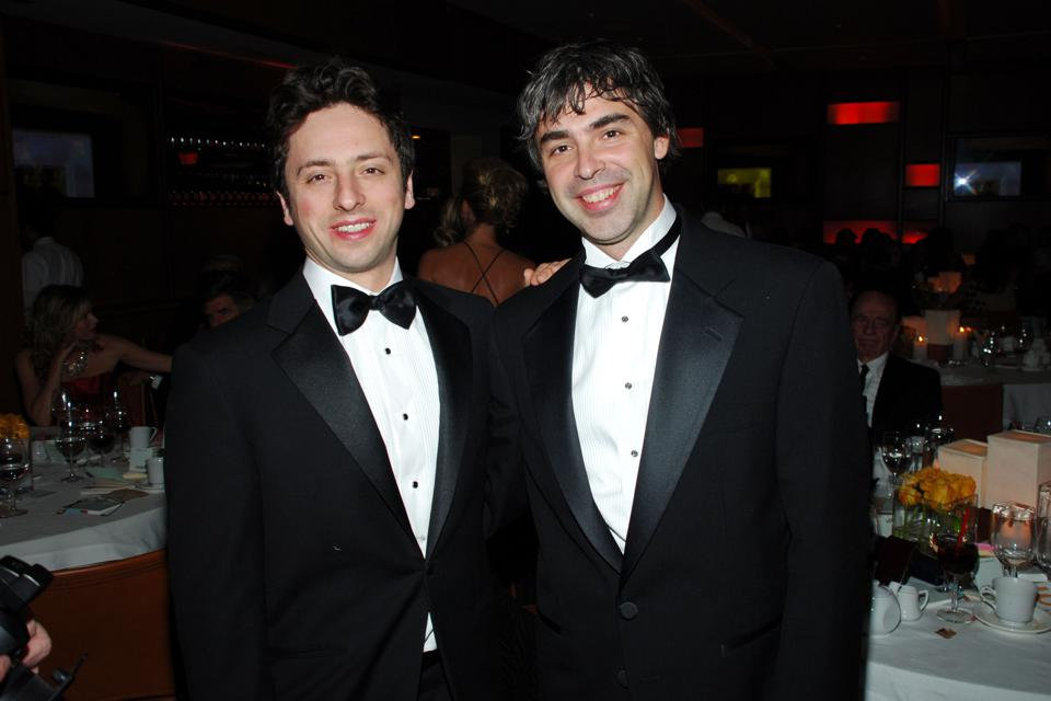 Google Cofounders Larry Page And Sergey Brin Relinquish Their Titles And Step Down