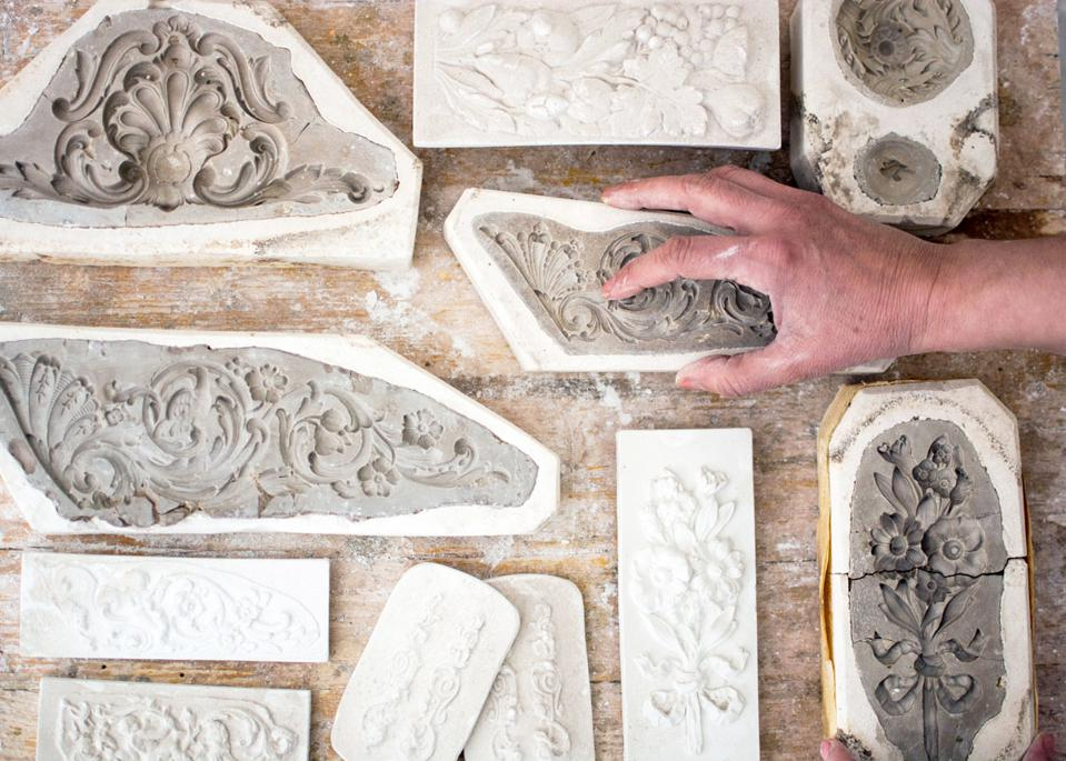 Italian stucco workshop