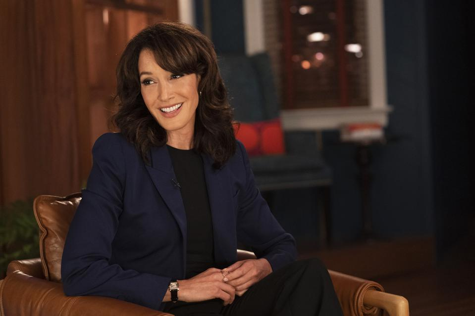 image shows jennifer beals of showtime's the l word generation q
