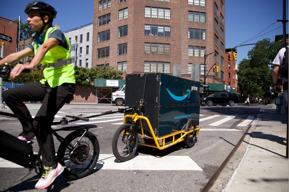 New York Is Working With Amazon, Others To Test Cargo Bike