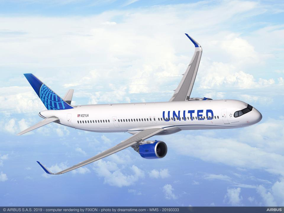 United Airlines To Buy 50 Ultra Long Range Airbus A321XLR Aircraft In Estimated $6 Billion Deal