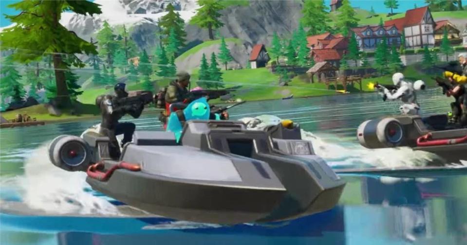 Motorboat Time Trial Fortnite