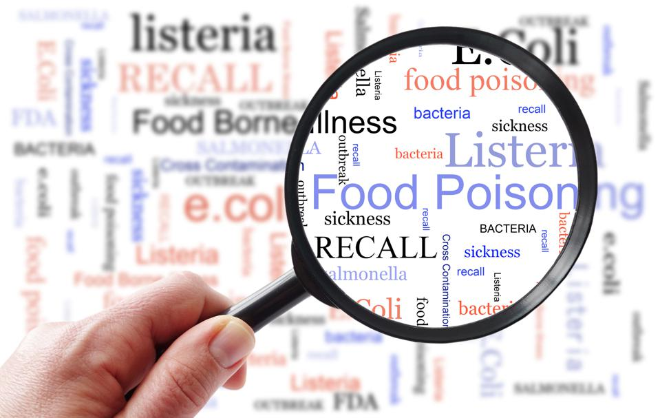 Food Poisoning inspection concept