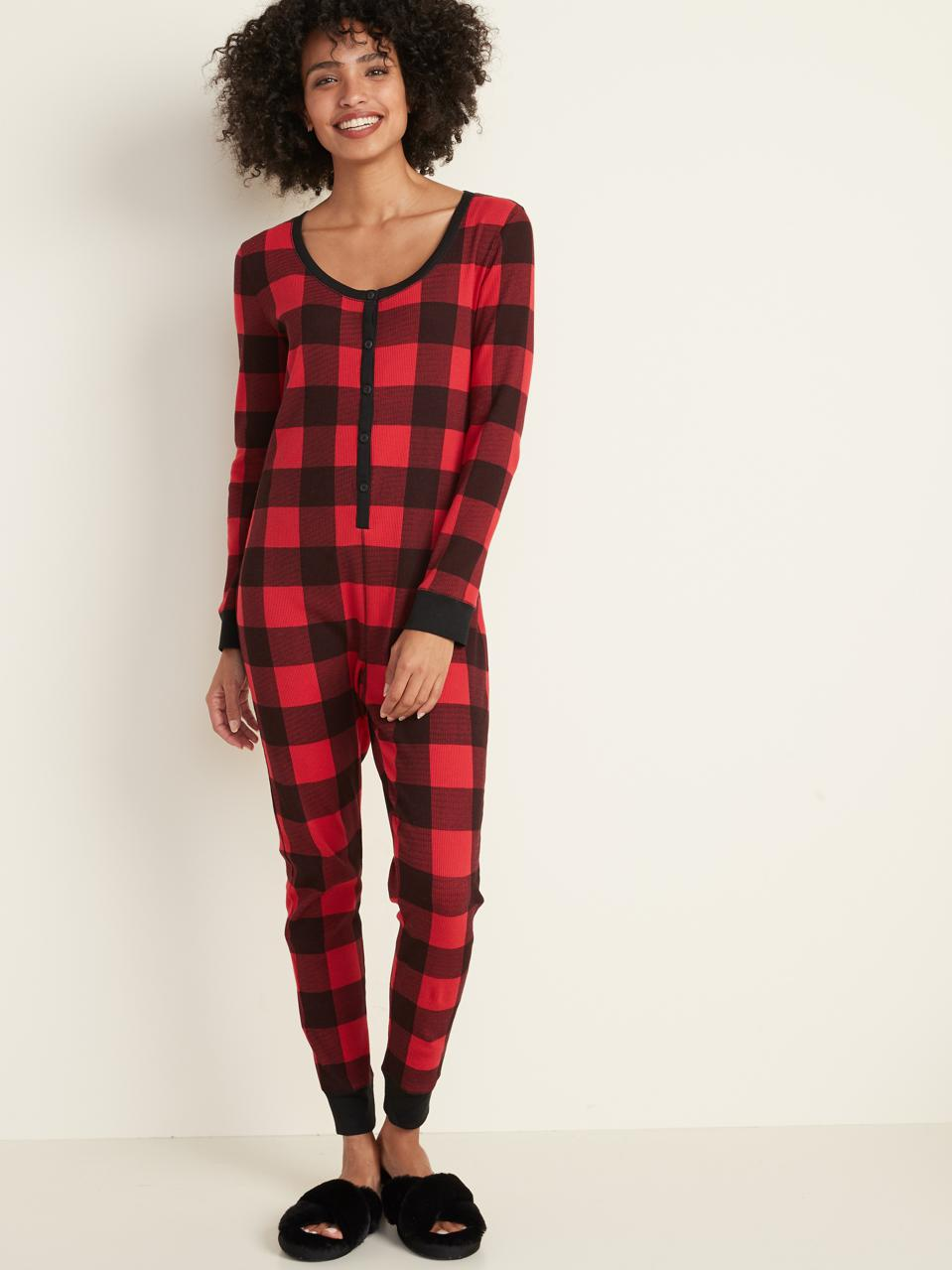 Old Navy Thermal Lounge One-Piece