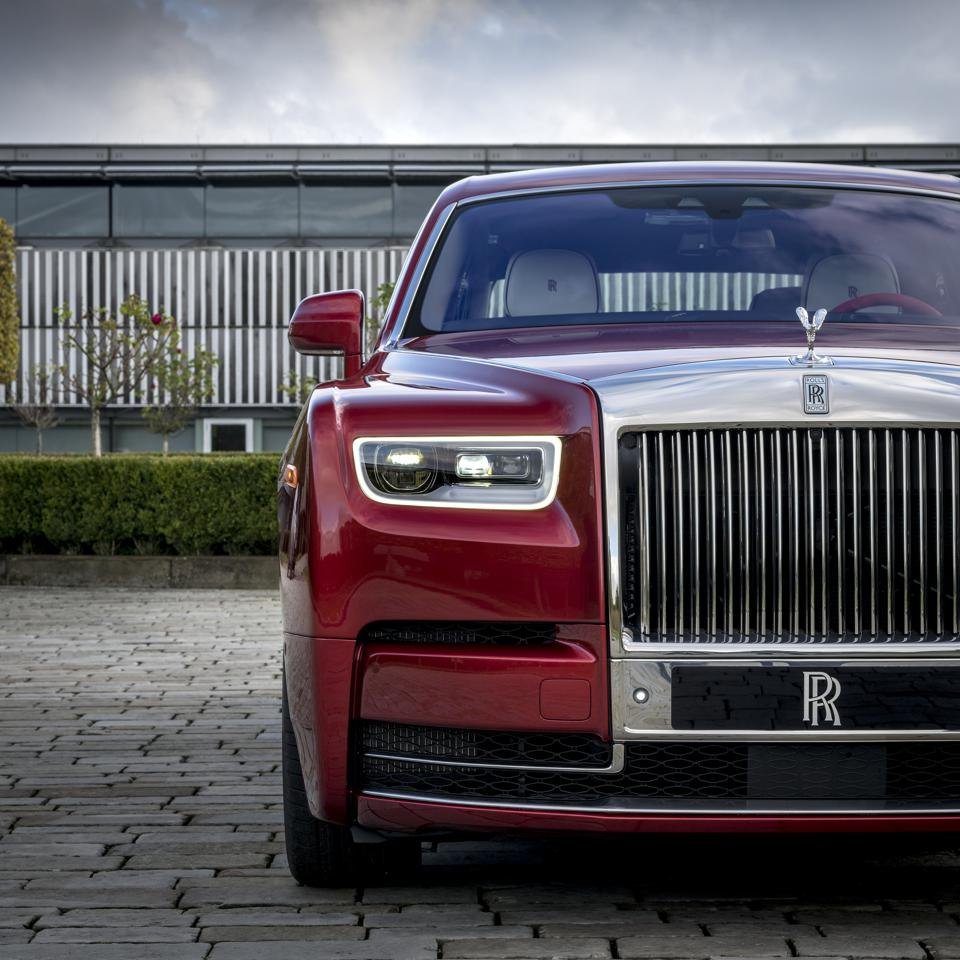 Rolls-Royce Reveals Unique RED Phantom To Benefit AIDS