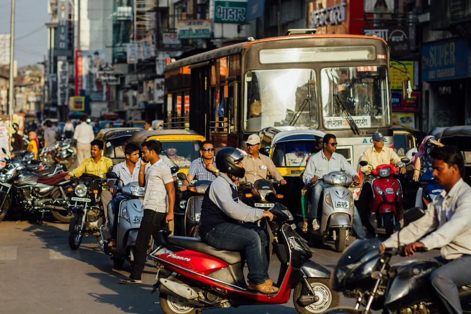 Two-wheelers in India
