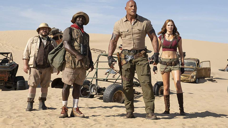 Weekend Box Office: 'Jumanji 3' Passes $300M, 'Frozen 2' Tops $1.1B And 'Knives Out' Nears $200M