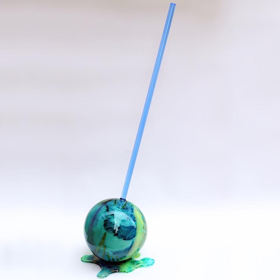 ArtSugar Ocean Swirl Lollypop