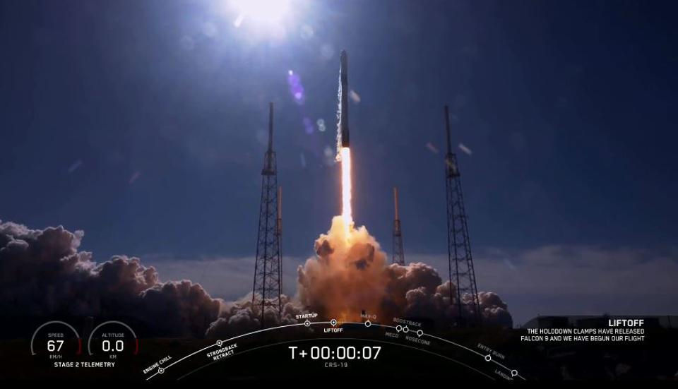 SpaceX CRS19 launch