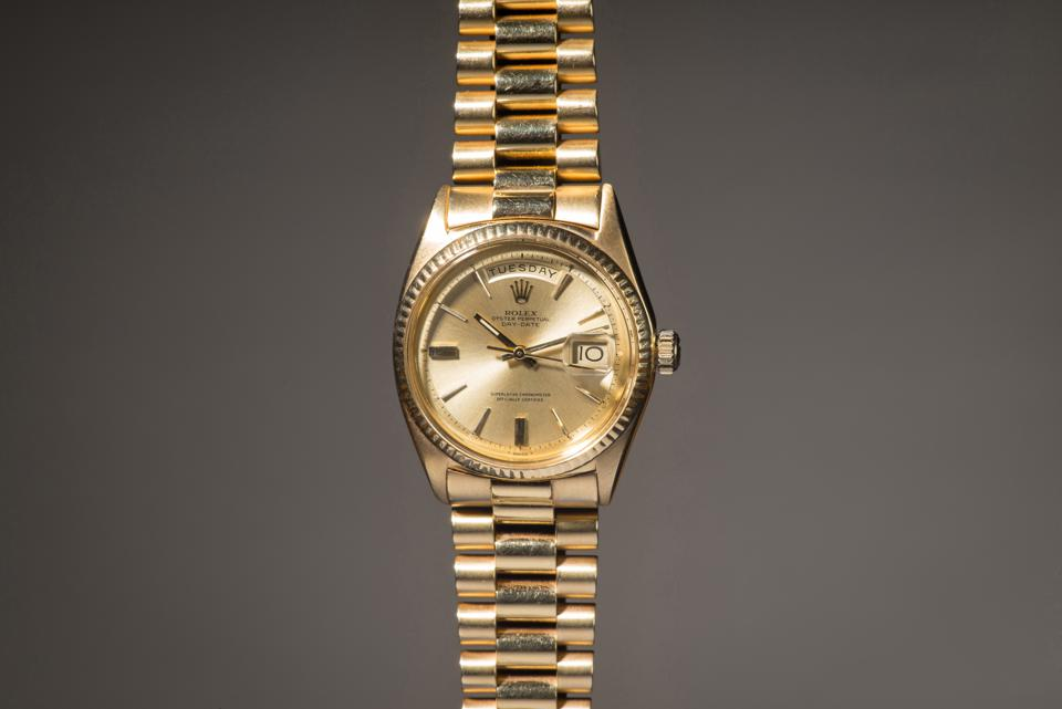 The Jack Nicklaus Rolex, to be auctioned by Phillips in Association with Bacs & Russo.