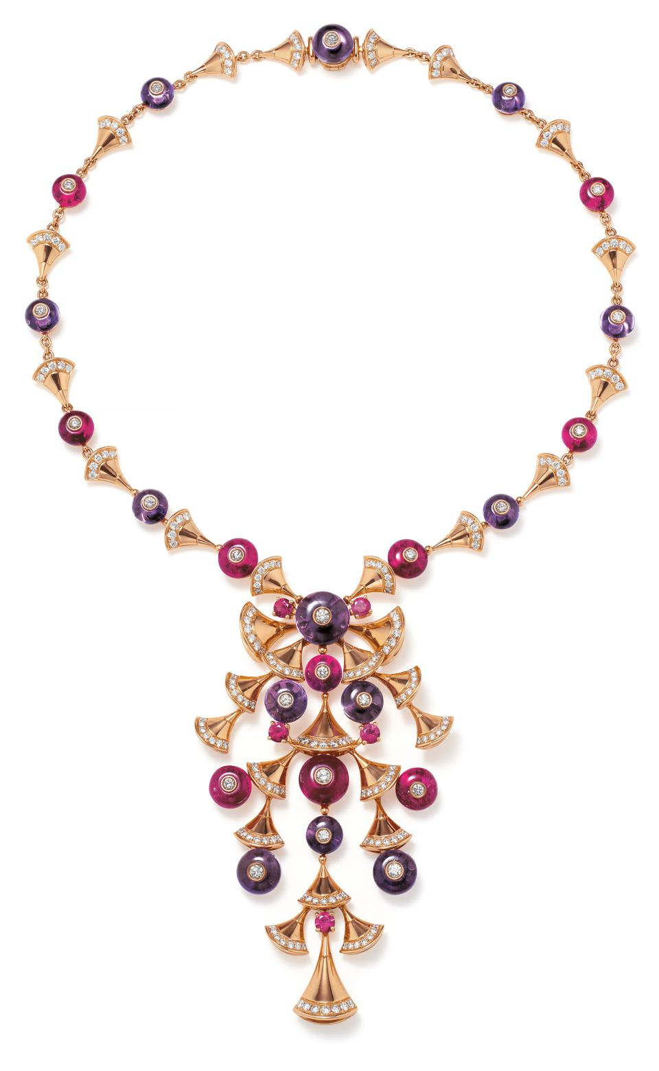 The Bulgari 'Divas' Dream Necklace to be auctioned by Phillips.