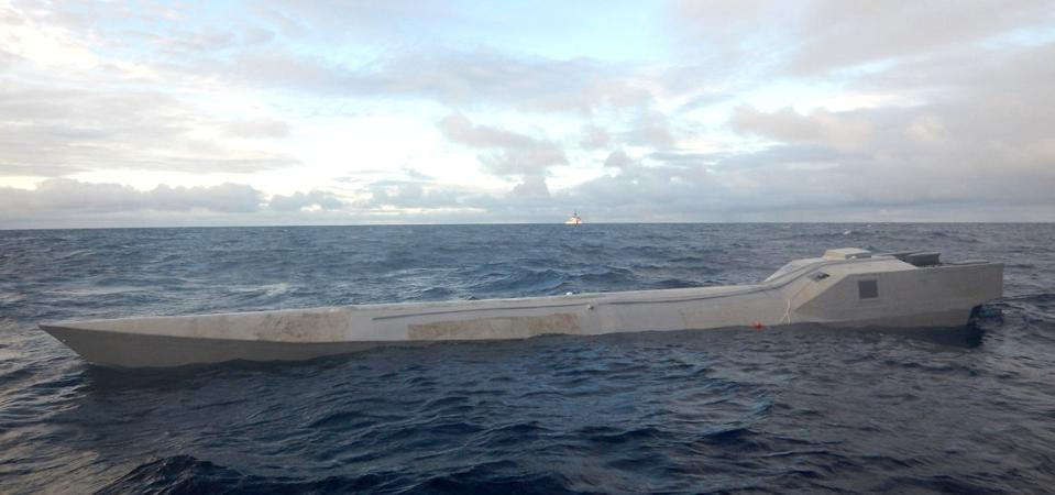 Narco Submarine captured by USCG on November 16 2019