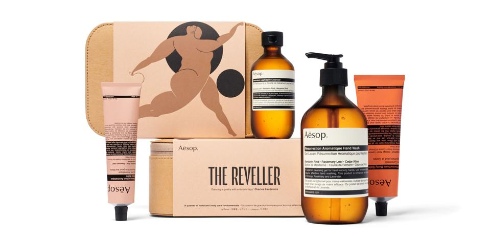 """Aesop's """"The Reveller"""" kit"""