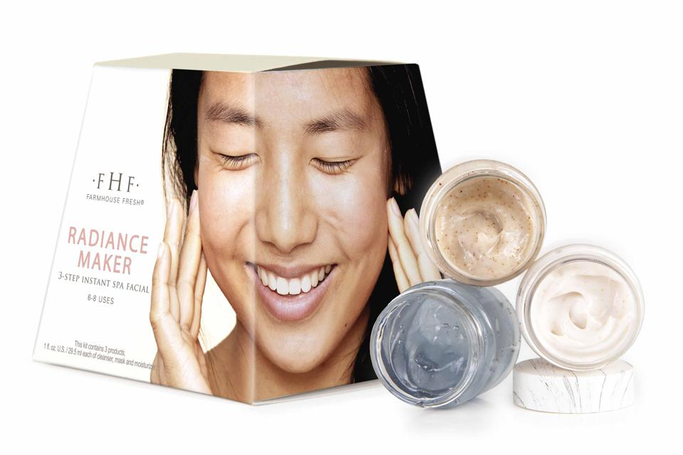 FarmHouse Fresh Three-Step Instant Spa Facial
