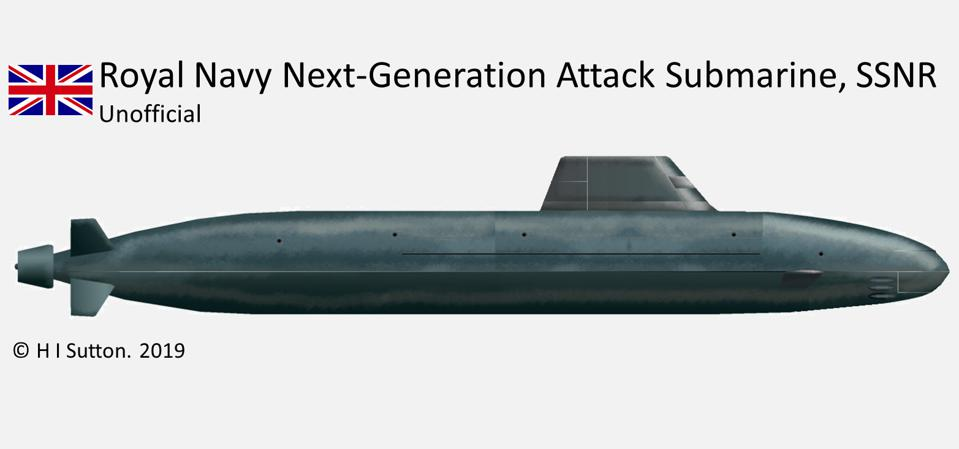 New Intelligence On The Secretive Next Generation British Attack Submarine: SSNR