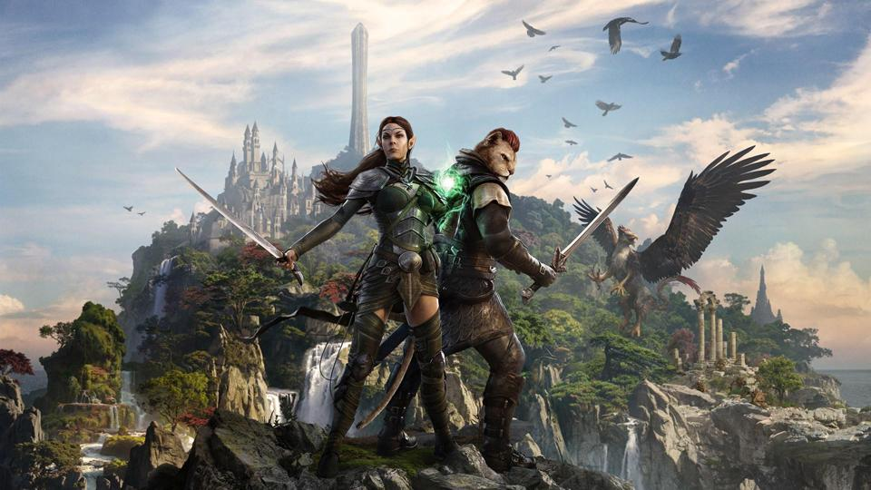 Key art for the Summerset chapter expansion in ESO.