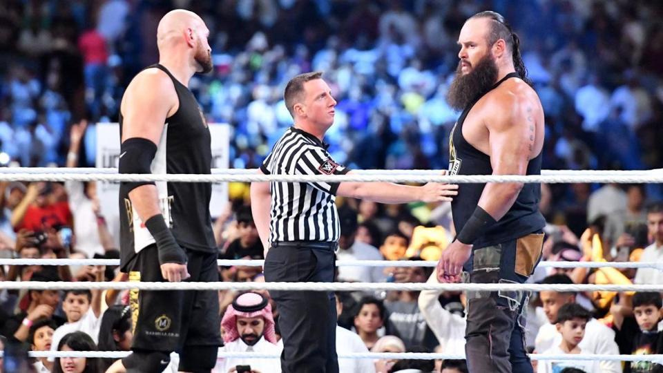 WWE Crown Jewel 2019: Tyson Fury vs. Braun Strowman