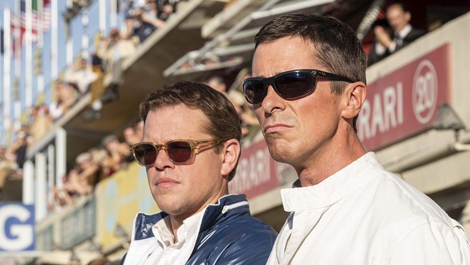 Matt Damon and Christian Bale in James Mangold's 'Ford v Ferrari'