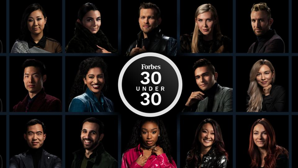 Fourteen portraits of 30 Under 30 class of 2020 members.