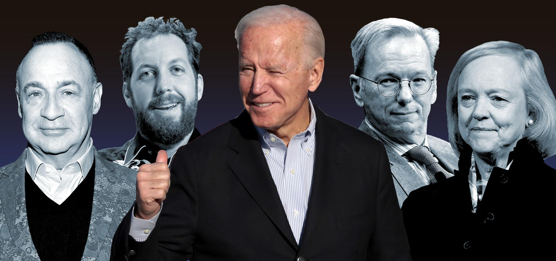 Here Are The Billionaires Backing Joe Biden's Presidential Campaign
