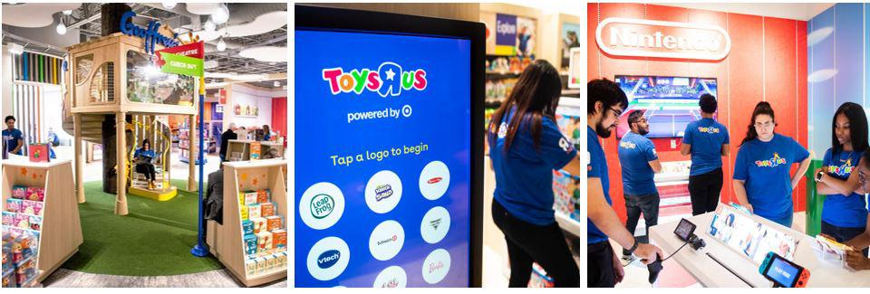 TRU Kids Brands along with b8ta relaunched Toys R Us with a new monitization approach