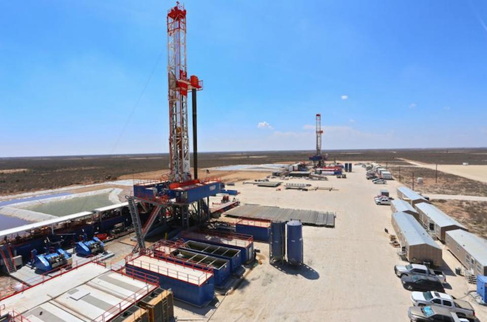 Patterson Drill rig