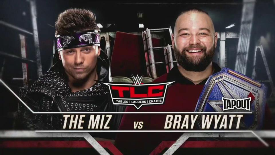 WWE Bray Wyatt The Miz The Fiend TLC Universal Championship