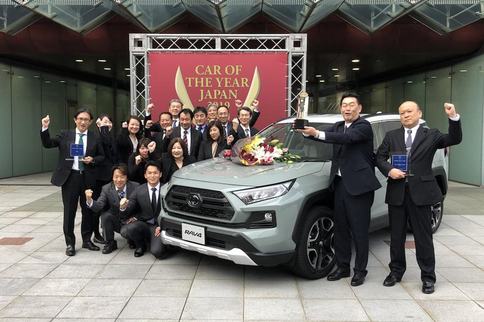 Toyota USA's Top Selling RAV4 Wins Japan's Biggest Car Award