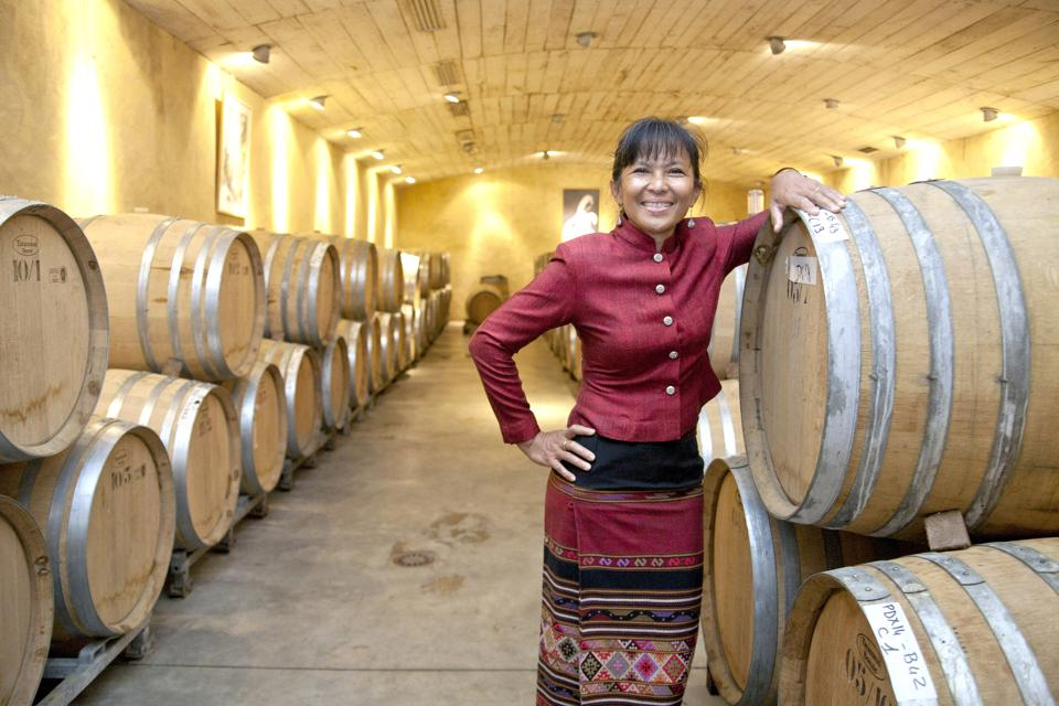 This Thai Woman Winemaker Is Gaining Renown Throughout France