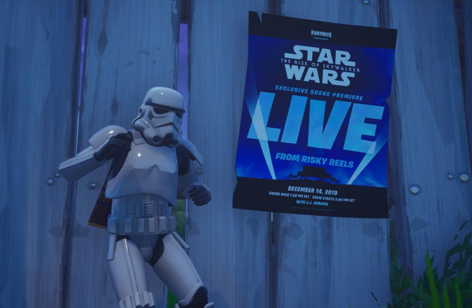 An Exclusive Scene From 'Star Wars: The Rise Of Skywalker' Is Premiering In 'Fortnite'