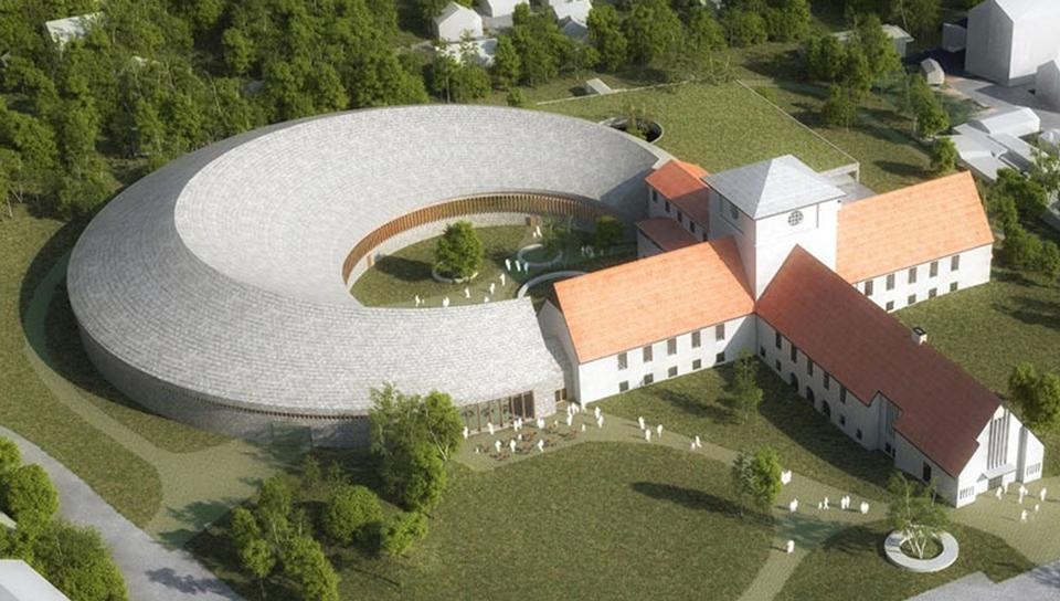 Plans for the Viking Ship Museum expansion in Oslo, Norway.