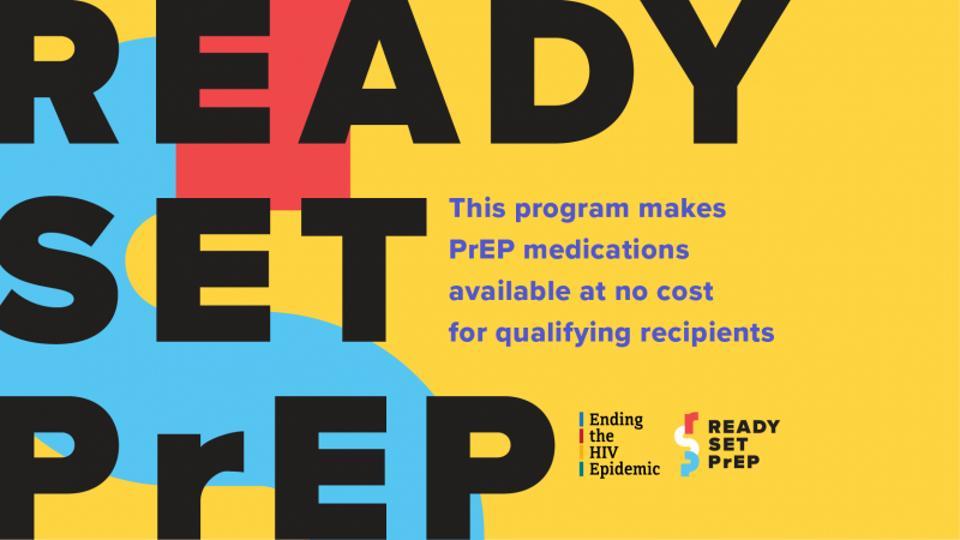 HHS Ready, Set, PrEp logo