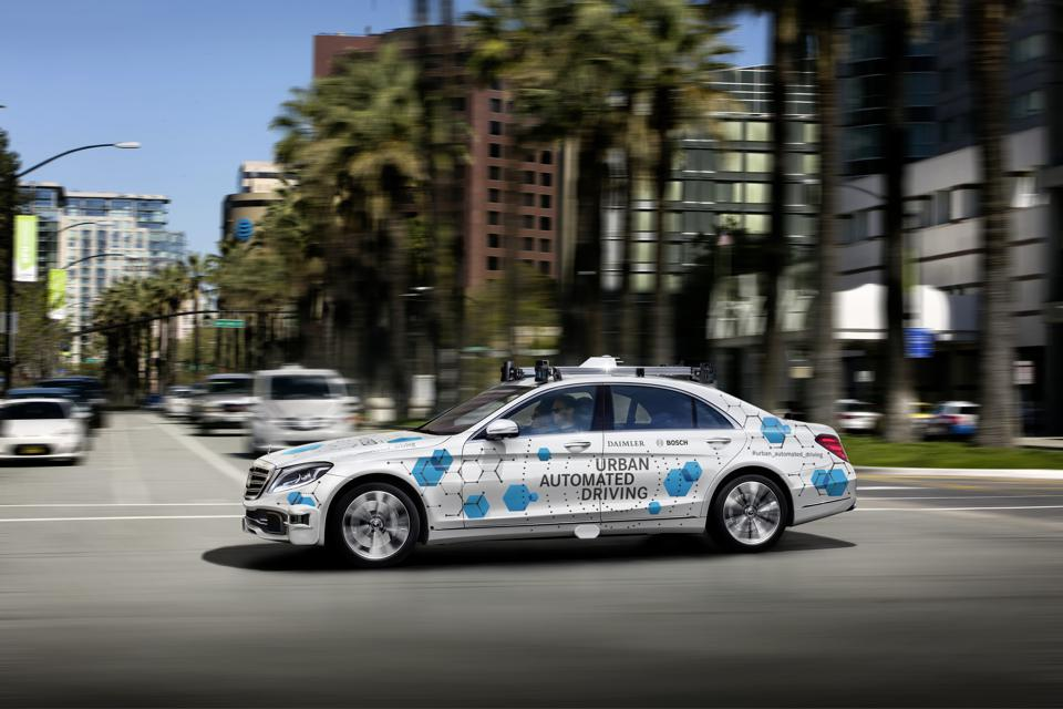 Bosch and Daimler have launched a Robotaxi pilot in San Jose, Calif.