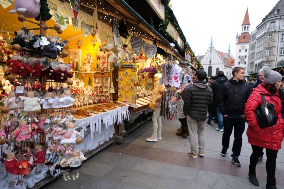 Christmas Market Munich Germany