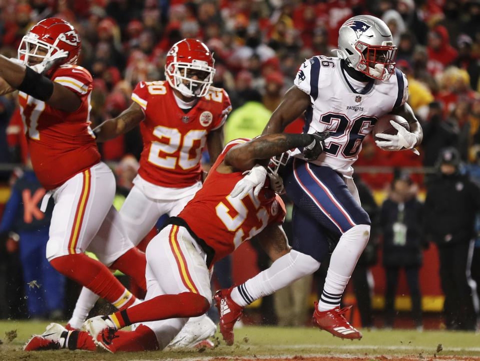 Patriots' Sony Michel Back In Focus Against Chiefs And Beyond