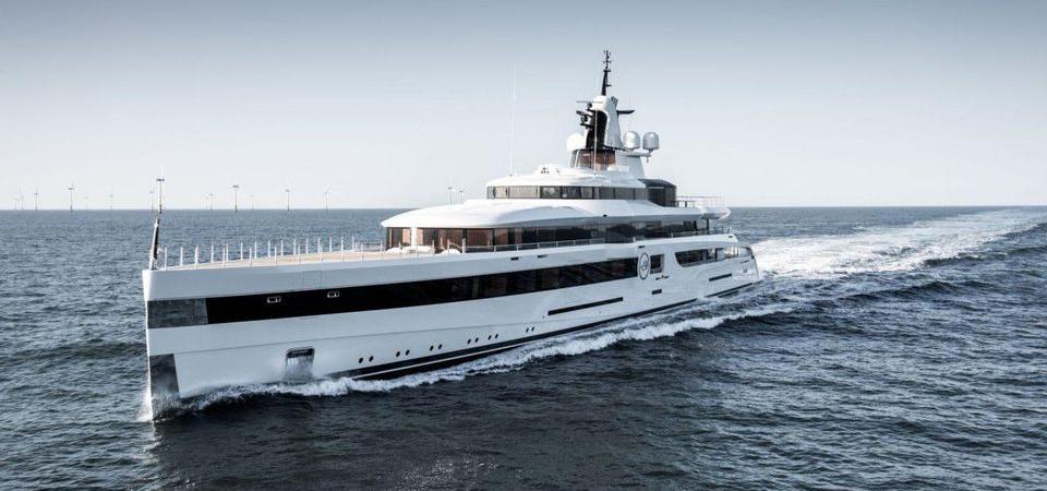 Washington Redskins owner Daniel Snyder's 305-foot-long superyacht Lady S