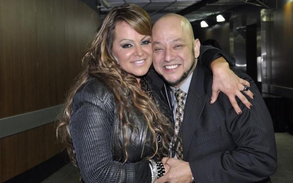 Jenni Rivera and Pepe Garza