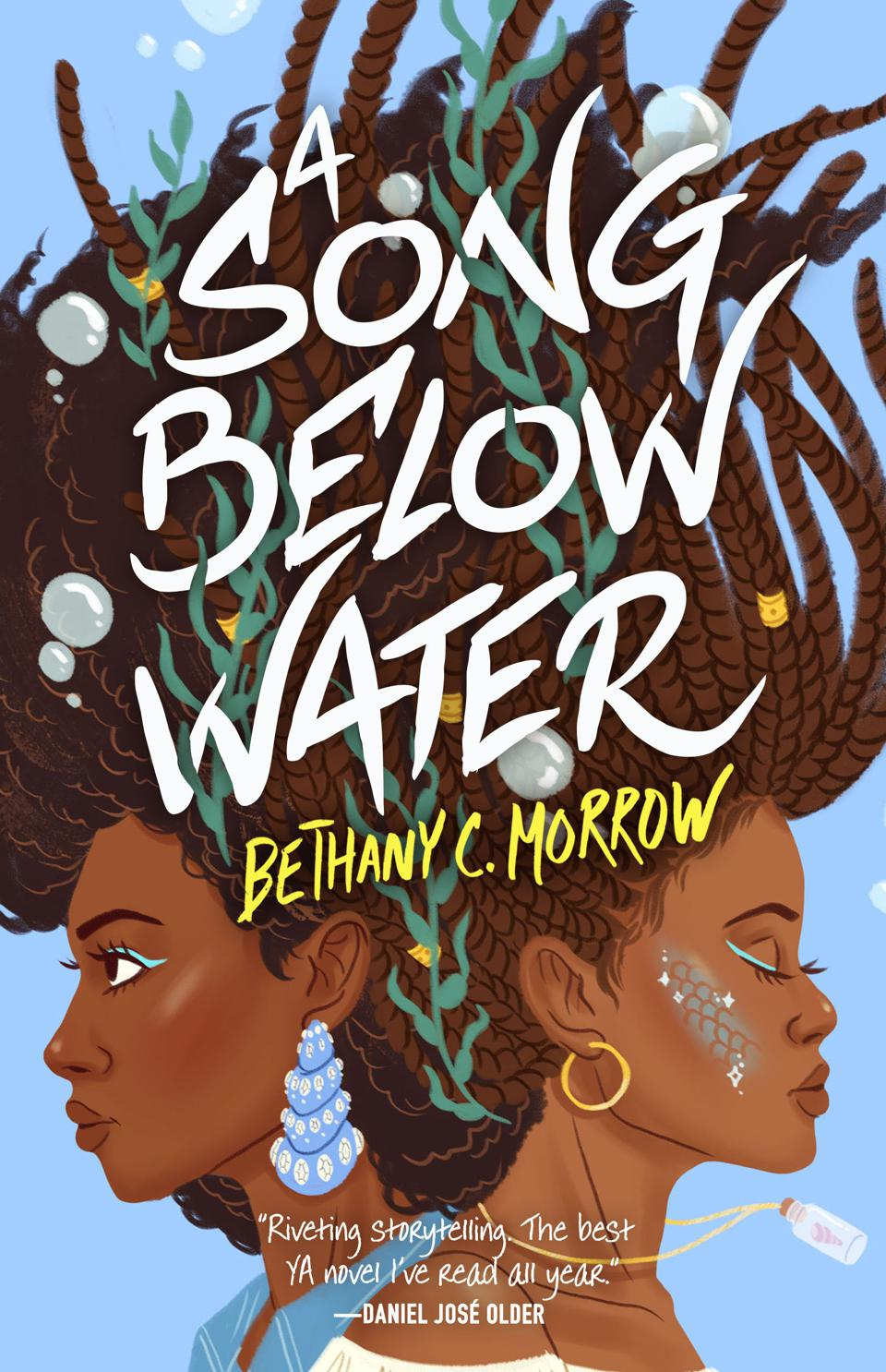 a song below water young adult YA bethany c morrow tor teen portland