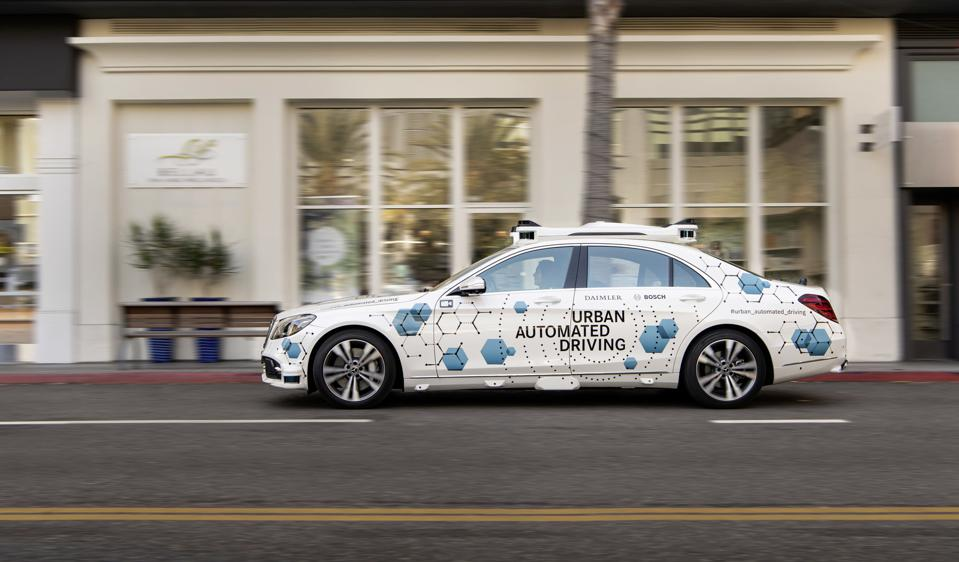 Selected riders will hail rides via an app developed by Daimler Mobile AG.